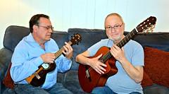 The Semi-Annual Jam Session (Joe Desiderio) Tags: ukulele guitar classicalguitar kala yamaha