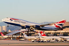 British Airways Boeing 747-436 G-CIVW (Mark Harris photography) Tags: spotting lax la canon 5d plane boeing ba 747 queen