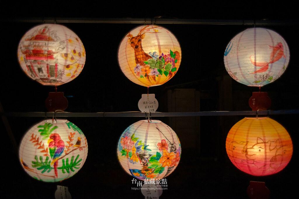 六甲媽祖廟燈會 | 最接地氣的恒安宮花燈-7