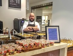 (cafe_services_inc) Tags: cafeservicesinc corporatedining guestchef greek cheftony citypoint