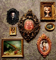 Fine Art (SJB Dolls) Tags: mabgraves karolinfelix magaliehénon edgarallanpoe art miniature blythe