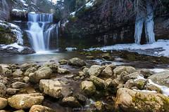 Cascada de Puente Ra (copelius38) Tags: cascada waterfall mountain montaña nieve snow river rio landscape naturaleza paisaje 6d longexposure larioja puentera