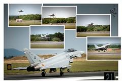 Kiss of Death (orichier) Tags: ef2000 sky woman meeting runway landing fighter jet spain plane spotter ba133 ochey nancy france