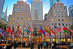Rockefeller Center & Plaza Manhattan New York City NY P00110 DSC_2436 (incognito7nyc) Tags: newyork newyorkcity nyc ny manhattan midtown midtownmanhattan rockefellercenter rockefellerplaza topoftherock rockefeller buildings stpatrickscathedral stpatricks flag flags plaza therink evening city view incognito7dcv incognito7nyc nyny cityofdreams nyccityofdreams cityofdreamsnyc empirestate empirestateofmind nycstateofmind newyorkstateofmind nikon dslr d3100 nikond3100 newyorklife newyorkdream newyorkdreams loveny ilovenewyork lovenyc