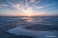 Favourite Lens Contest 2 (burntpixel.ca) Tags: canada manitoba lake winnipeg photo photograph rural fine art patrick mcneill burntpixel beautiful amazing landscape sony a7r2 a7rii sonya7r2 voigtlander 15mm lens wide wideangle snow winter frozen sunset sunrise shape s curve sky clouds
