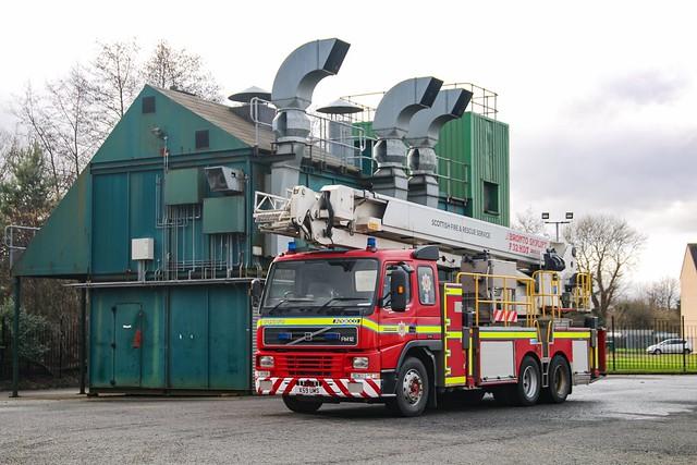 Scottish Fire & Rescue Service L04A1/X59 UMS