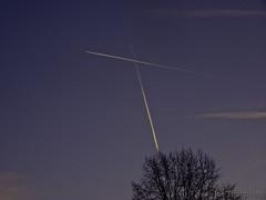 The Aviators (Joe Thomissen) Tags: joethomissen 664freedom airplane sky aviators cirrusaviaticus contrails aircraft air minimalism outdoor