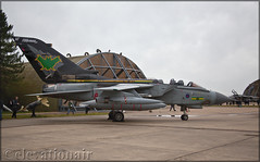 ZG775 Panavia GR4 Tornado Royal Air Force (elevationair ✈) Tags: egyf knf raf marham rafmarham military avgeek aviation airplane plane aircraft apron pan fastjet tornado panavia gr4 panaviagrvtornado royalairforce zg775 uk unitedkingdom england dull overcast