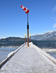 Harrison Hot Springs/Harrison Lake (SonjaPetersonPh♡tography) Tags: harrisonhotsprings harrisonlake winter 2019 snow ice lake water village scenery scenic bc britishcolumbia canada landscape beach wind windy nikon nikond5300 cold tourists agassiz districtofkent fraservalley mountains mountainlandscape