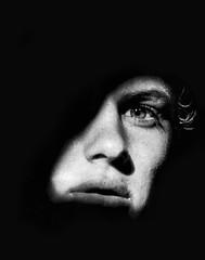 Jack (.Betina.) Tags: boy man portrait portraiture monochrome mood mono moody mouth mirror reflection betinalaplante bb eye fineart blackandwhite sun friday 2019