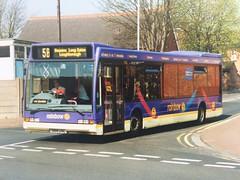 S168 UAL 168 (nevetsyam1404) Tags: rainbow5 wellglade trentbarton bartonbuses barton b43f excel optare optareexcel l1150 optareexcell1150 168 beestonbusstation s168ual