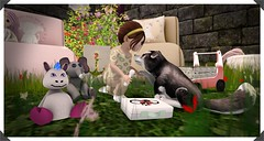 Post 15 -Dr. Animal (Lynne Amara) Tags: badseed bebe child sl kids toddler secondlife second life lil heathenz lilheathenz baby wasabi pills wasabipills lilvet vet husky red remora wolf pup avatar redremora wolfpup wolfpupavatar