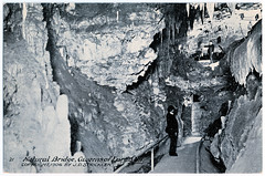 Caverns of Luray - Natural Bridge (pepandtim) Tags: postcard old early nostalgia nostalgic caverns luray natural bridge 1906 strickler virginia 1878