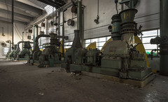 gas works (Camera_Shy.) Tags: gas works derelict factory urban exploring decay industrial building ue exploration machinery machine generator turbine hall industry gaswork disused dereliction abandoned buildings old forgotten decayed nikon d810 italia italy road trip