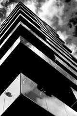 DSCF1638 (Claudio Abate) Tags: architecture buildings skyscraper clouds sky reflections milano milan fujifilmxe3 riflessi nuvole strutture structures pattern geometric