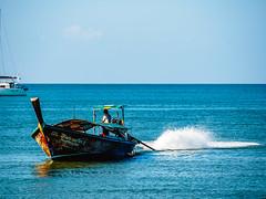 Ao Nang 5 (deepaqua) Tags: ocean andamansea krabiprovince island indianocean aonang boat sailboat thailand