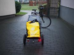 Burley Travoy (peterwoelwer) Tags: burleytravoy bicyclecargotrailer bicycle 100bicycles 100bicyclesproject olympusomdem5 omdem5