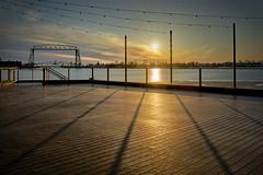 Duluth Harbor Sunrise - Duluth, MN (j-rye) Tags: lakesuperior duluth water sunrise shore sky clouds harbor sonyalpha sonya7rm2 ilce7rm2 mirrorless
