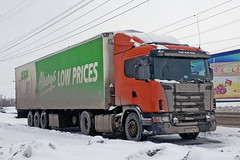 Scania 114L  Р 227 ММ 102 (RUS) (zauralec) Tags: kurgan street k myagotina город курган улица автомобиль грузовик транспорт автопоезд scania 114l р 227 мм 102 rus