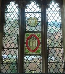 [73628] York : Merchant Adventurers Hall Chapel - South Window (Budby) Tags: york northyorkshire hall guild gild window stainedglass chapel church