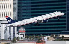 N196UW - Las Vegas McCarran (LAS) 01.10.2009 (Jakob_DK) Tags: a321 a321211 airbus airbusa321 a321200 airbusa321211 klas las lasvegas lasvegasmccarran mccarraninternationalairport usa usairways 2009 n196uw