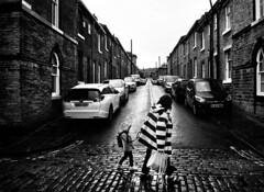 377 (Digirolamo Nicola) Tags: saltaire uk unitedkingdom england rain kid thunderstorm