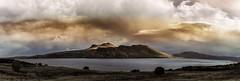 Paysage improbable (JardinsLeeds) Tags: scotland scottishlandscape paysageécosse écosse montagnes mountains loch ciel sky nuages nikond800e