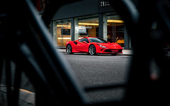 F8. (Alex Penfold) Tags: ferrari f8 tributo red supercars super car cars autos alex penfold 2019 london