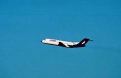 HA-LMF (IndiaEcho) Tags: halmf malev fokker 70 ebbr bru brussels aircraft aeroplane aviation airport airfield