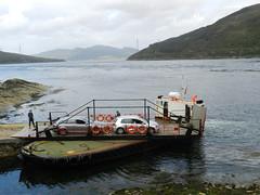 Glenachulish Ferry, Kylerhea, Isle of Skye, 19th August 2013 (allanmaciver) Tags: glenachulish kylerhea isle skye 2013 august ferry old times style class allanmaciver