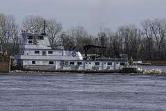 m/vMSNicole_SAF0057 (sara97) Tags: barge copyright©2019saraannefinke mvmsnicole mississippiriver missouri photobysaraannefinke pushboat saintlouis towboat