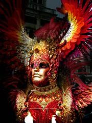 Carnevale19 (lucy PA) Tags: carnevale maschere venezia colori festa rosso carnival masks venice party colors red