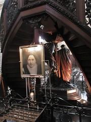 Photo of Sister Lúcia dos Santos, Fátima shrine in the cathedral, Namur, Belgium (Paul McClure DC) Tags: namur namen belgium belgique wallonia wallonie ardennes feb2018 cathedral historic architecture