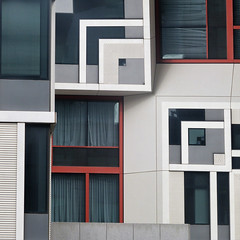 bewildering building (msdonnalee) Tags: architecture building digitalfx geometry abstract abstrakt innamoramento abstrait