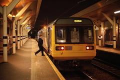 Step To It..... (marcus.45111) Tags: 2r26 northernrail 142001 railwaystaffatwork rotherhamcentral pacerdmu ukrailwaysatnight flickr flickruk canon50mmf18 2019