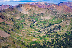 Oh Be Joyful Pass (tlwecker) Tags: colorado mountains rockies rocky crested butte landscape green purple red basin valley