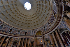 Within the Pantheon in Rome, Italy  -  (Selected by SHUTTERSTOCK) (DESPITE STRAIGHT LINES) Tags: nikon d7200 nikond7200 nikkor1024mm nikon1024mm getty gettyimages gettyimagesesp despitestraightlinesatgettyimages paulwilliams paulwilliamsatgettyimages rome roma romeitaly pantheon thepantheon thepantheonrome marcusagrippa augustus circusflaminius hadrian hadrianswall publiusaeliushadrianusaugustus thepantheoninrome architecture shutterstock despitestraightlinesshutterstock