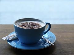 Cappuccino (ingrid eulenfan) Tags: 2019 kaffeepause pausecafé coffebreak 365project kaffee espresso cappuccino cup coffeepot tasse coffee coffeetogo