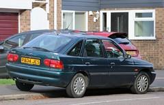 P834 JES (Nivek.Old.Gold) Tags: 1997 ford escort lx 16v 5door 1597cc dagenhammotors