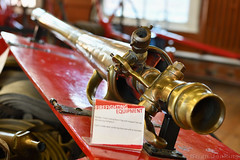 Fire Brigade Hose Attachment (Bri_J) Tags: nationalemergencyservicesmuseum oldpolicefirestation westbar sheffield southyorkshire uk museum yorkshire nikon d7500 firebrigade hose attachment brass