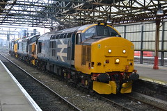 Photo of DRS Class 37s 37409 37602 & 37402 - Crewe