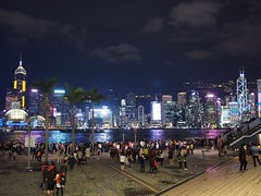 (procrast8) Tags: hong kong china victoria harbour waterfront tsim sha tsui central plaza bank tower convention centre