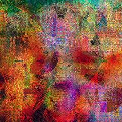 the veil... (Mark Noack) Tags: light color photoshop layers layering surreal expressionism abstract psychedelic futurist he