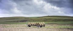Trailer, Bales and Curves (stevedewey2000) Tags: salisburyplain wiltshire landscape sonya3000 pentax11018mm manualfocus 2351 sptacentre spta machinery trailer mechanical hay bales compton waterdeanbottom
