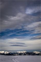 Wintertime . Tyrol (:: Blende 22 ::) Tags: austria österreich wintertime snow mountains ski fog clouds white bluesky canoneos5dmarkiv holiday tirol tyrol wilderkaiser söll sun star landscape canonef70200mmf4lisiiusm