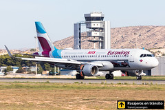 Airbus A320 Eurowing (AVIS livery) D-AEWS (Ana & Juan) Tags: airplane airplanes aircraft airport aviation aviones aviación airbus a320 eurowings landing reverse alicante alc leal spotting spotters spotter planes canon closeup special livery