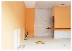 empty (mcfcrandall) Tags: orangewall empty store renovations
