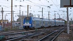Z 24529/30 (315) + Z 24507/08 (304), Amiens - 20/10/2014 (Thierry Martel) Tags: z24500 amiens automotrice sncf