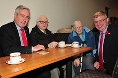 At 'Thank you' coffee morning in Prestonpans