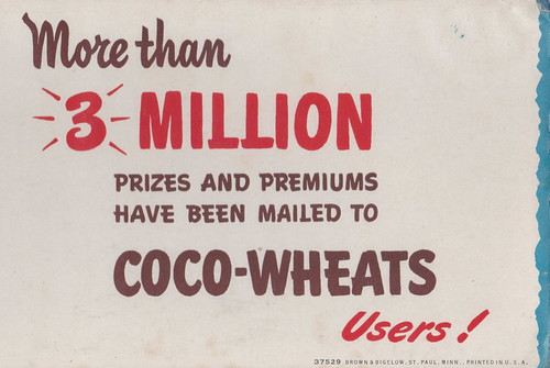 US MN St. Paul ARTIST Gillette Elvgren for COCO-WHEATS PIN-UP STYLE Ad Specialities Collectible Brown & Bigelow a publishing company based in Saint Paul Card 37529 Tape just securing archival sleeve3
